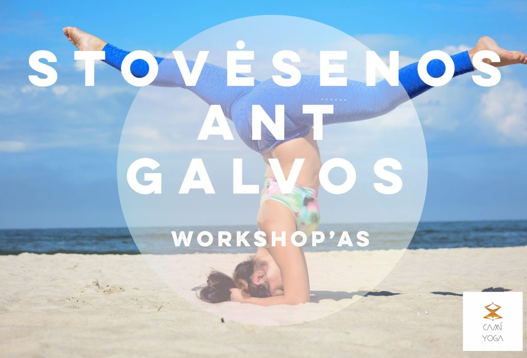 Stovėsenos ant galvos workshop'as
