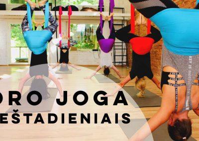 Oro joga sestadieniais camiyoga
