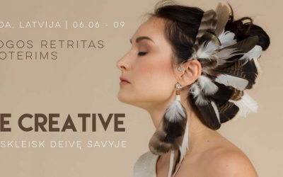 Be Creative | Jogos retritas – stovykla moterims su CamíYoga
