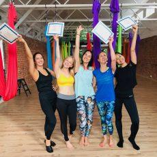 Camiyoga Aerial yoga teacher training course level 1-2_7824