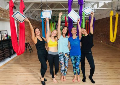 Camiyoga Aerial yoga teacher training course level 1-2_7824