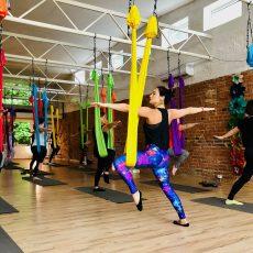 oro joga aerial yoga camiyoga kovotojai