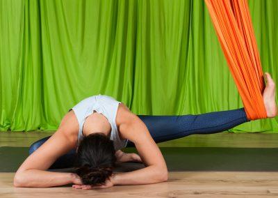 Yin oro joga atpalaiduojanti kursai aerial yoga camiyoga camille shakti8