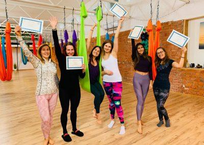 Camiyogair Camille Shakti oro joga aerial yoga silk hammock 1