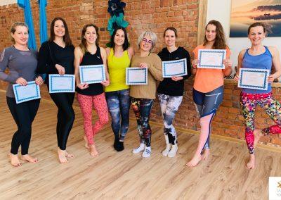 #4 CamiYoga oro jogos Level 1-2 mokytojų lkursai aerial yoga