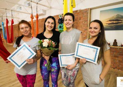 #7 CamiYoga oro jogos Level 1-2 mokytojų kursai aerial yoga
