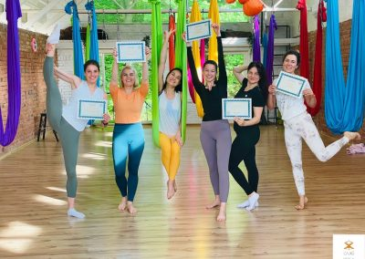 #13 Camiyoga oro jogos kursai level 1-2 aerial yoga teacher training camiyogair