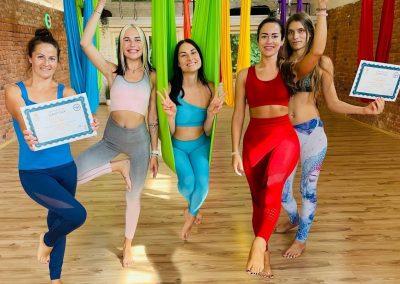 #14 Camiyoga oro jogos kursai level 1-2 aerial yoga teacher training camiyogair